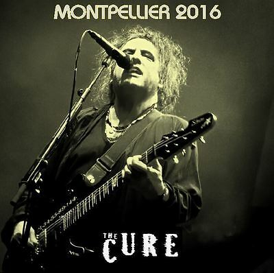 The Cure live Montpellier France nov 2016 2 CD