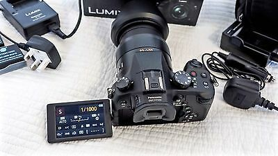 Panasonic LUMIX DMC-FZ1000 20.1MP Digital Camera - Black