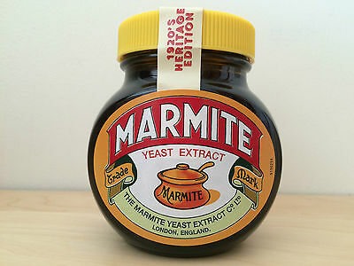 Collectable New Sealed Marmite Limited Edition 1920's Heritage jar FREE UK P&P