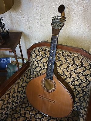 Bandurria  vintage Portugal old typical instrument