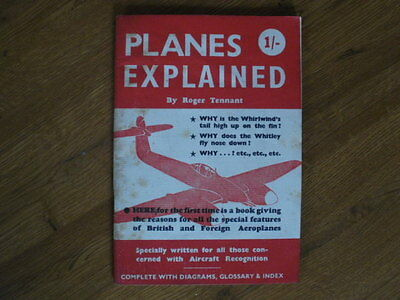Planes Explained by Roger Tennant 1942 - for aircraft recognition personnel WW2