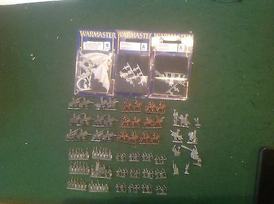 Warhammer Warmaster High Elf Army deal Various Starter Units And Characters