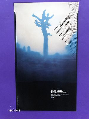 """Tarnation Your Thoughts And Mine ORIGINAL 24"""" x 14"""" 1997 PROMO POSTER 4AD indie"""