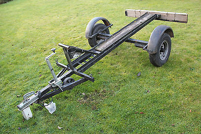 Single Motorcycle Trailer great to tow