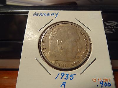 1935 A German 5 Mark - Germany Coin