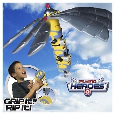 Flying Hero Heroes Despicable Me Minion Minions Hand Launcher - Brand New!