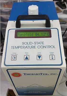ThermoTek T252P-5 Rev A Solid State Recirculating Chiller Water Cooler