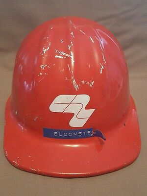 Vintage McDonald Cap-Standard Aluminum Hard Hat Mine Safety Appliances Crown Z