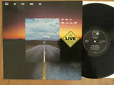 The Kinks: LIVE. The Road. Metronome 828 081-1. German LP NM