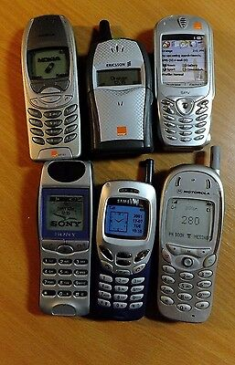 Selection of Dummy Mobile Phones, non working display items