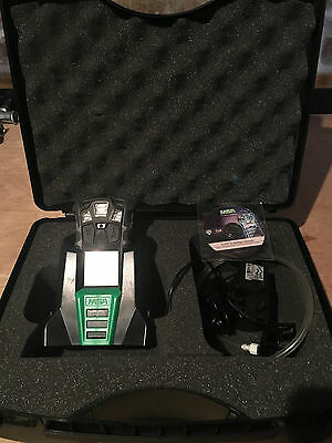 MSA ALTAIR 4x GAS MONITOR CARRY CASE,CD & CHARGER