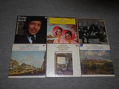 6 Classical Records of chamber and piano music in great condition