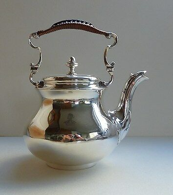 Sterling Silver Teapot, London 1858, by Hunt & Roskell (late Storr & Mortimer)