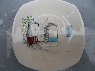 Midwinter  Cannes Tea Plate by HUGH CASSON    14.5 cm  Vintage China GOOD COND 3