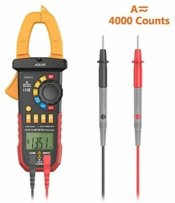 Tacklife CM01A Digital Clamp Meter Auto Ranging Multimeter With AC/DC Voltage