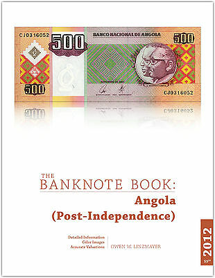 Angola chapter from new catalog of world notes, The Banknote Book
