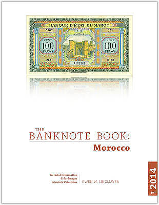 Morocco chapter from new catalog of world notes, The Banknote Book