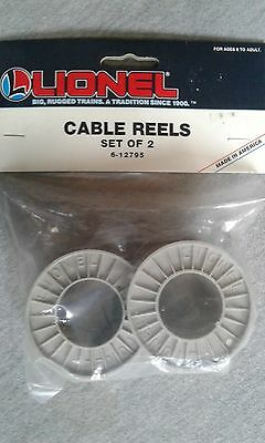 Lionel Cable Reels Set of 2 #6-12795 ~ TS