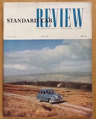 Standard Car Review Incorporating Triumph News, Number 6 June 1952