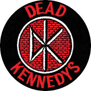 Dead Kennedys Men's Embroidered Patch Black