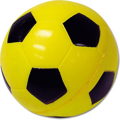 POOF Foam Soccer Ball, 7.5-Inch, Assorted Colors