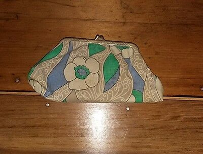 Vintage 60s Flower Coin Purse