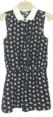 Girls black playsuit from Next aged 7 years