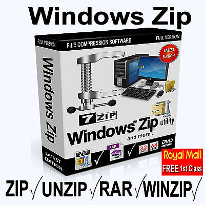 Windows Winzip,Unzip Zip,Rar,File Archive Software - Unzip or Zip your files