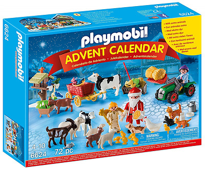 Playmobil 6624 Advent Calendar Christmas on The Farm Playset