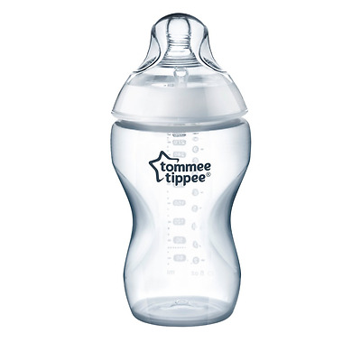 Tommee Tippee Closer to Nature 1-Pack 11 Ounce Added Cereal Bottle