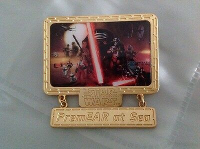 DCL Disney Cruise Line Star Wars The Force Awakens PremEAR at Sea Premier Pin