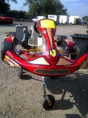 Rotax Max Sq racing go kart unique frame rare in the uk