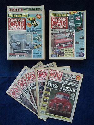 Classic Car Weekly Early Issues with Gifts & Supplements in Excellent Condition