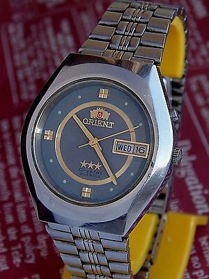 ORIENT three stars VINTAGE MENS AUTOMATIC watch Made in Japan
