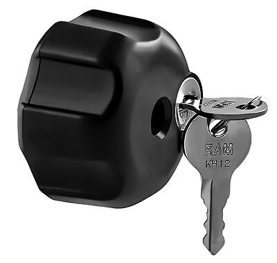 RAM Locking Knob with 1/4-20 Brass Hole for B Size Arms