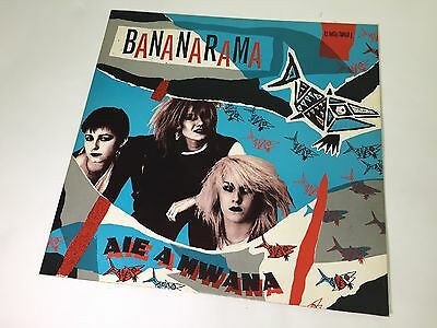 "Bananarama - Aie A Mwana - 12"" Vinyl Single - 1981 Germany Mercury 6400540, EX+"