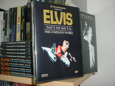 Elvis : The Complete Works (3 Double Layer DVD's) over 9 hours of TTWII