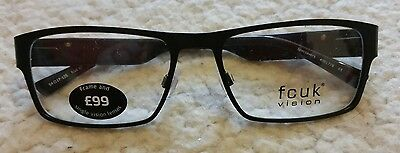 Glass Frames French Connection Black Frames Fcuk No Lens New Free Postage
