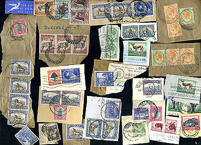 Assorted Stamps/Postmarks - South Africa