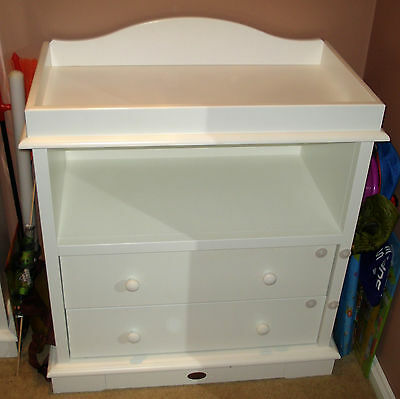 Boori Country Collection Baby Change Table With Drawers