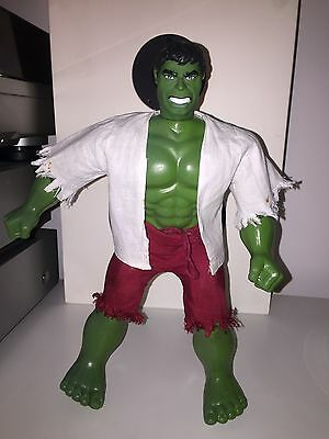 "Vintage 12"" Incredible Hulk Action Figure 1978 Mego Marvel Nice Condition!"
