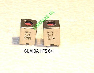 Sumida 10,70 Mhz If Transformer/coil Pink,with Multiple Windings 2 Piece Offer