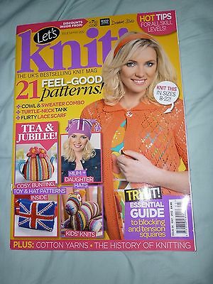 Lets knit magazine and yarn kit issue 54 May 2012