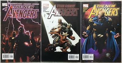 New Avengers #1,2 & 3 (Marvel 2005) 3 x FN to VF issues.