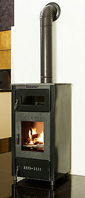 Wood Fired Stove with Oven