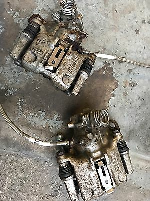 Ford Sierra Cosworth 4wd Rear Brake Calipers & Carriers NON Vented Westfield Kit