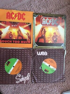 4 Singles.AC/DC.Dirty Deeds-Highway To Hell-Touch Too Much(2).Atlantic