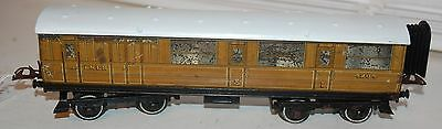 HORNBY SERIES O GAUGE No 2 PASSENGER BRAKE COACH IN LNER TEAK LIVERY