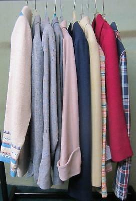 Ladies Vintage 10 Piece Lot Of Jacket Blazers 1950's-1970's