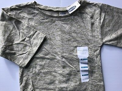 NEW Old Navy Toddler Girl's Tunic Length Shirt Size 5T CUTE Lace Pattern
